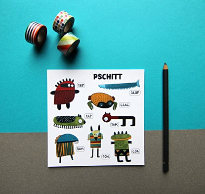 Image of Carte PSCHITT