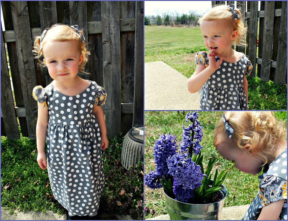 Image of Little Miss Dress-  PDF pattern