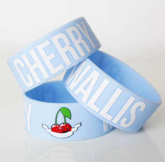 Image of Cherry Wallis Wristband (Sky Blue)