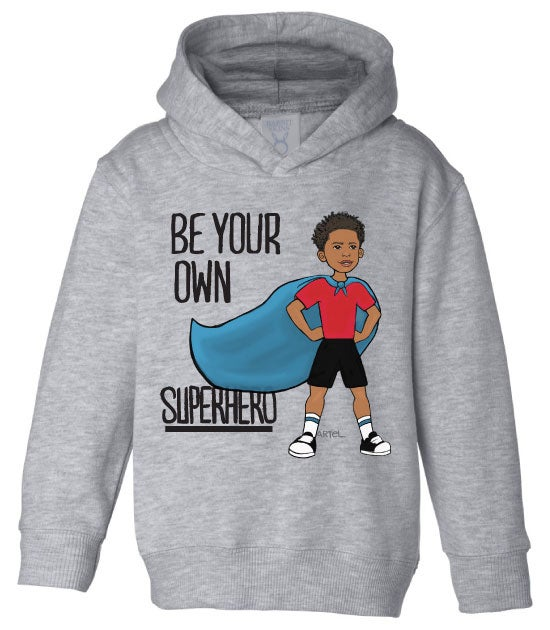 Image of Superhero Toddler and Youth Hoodie