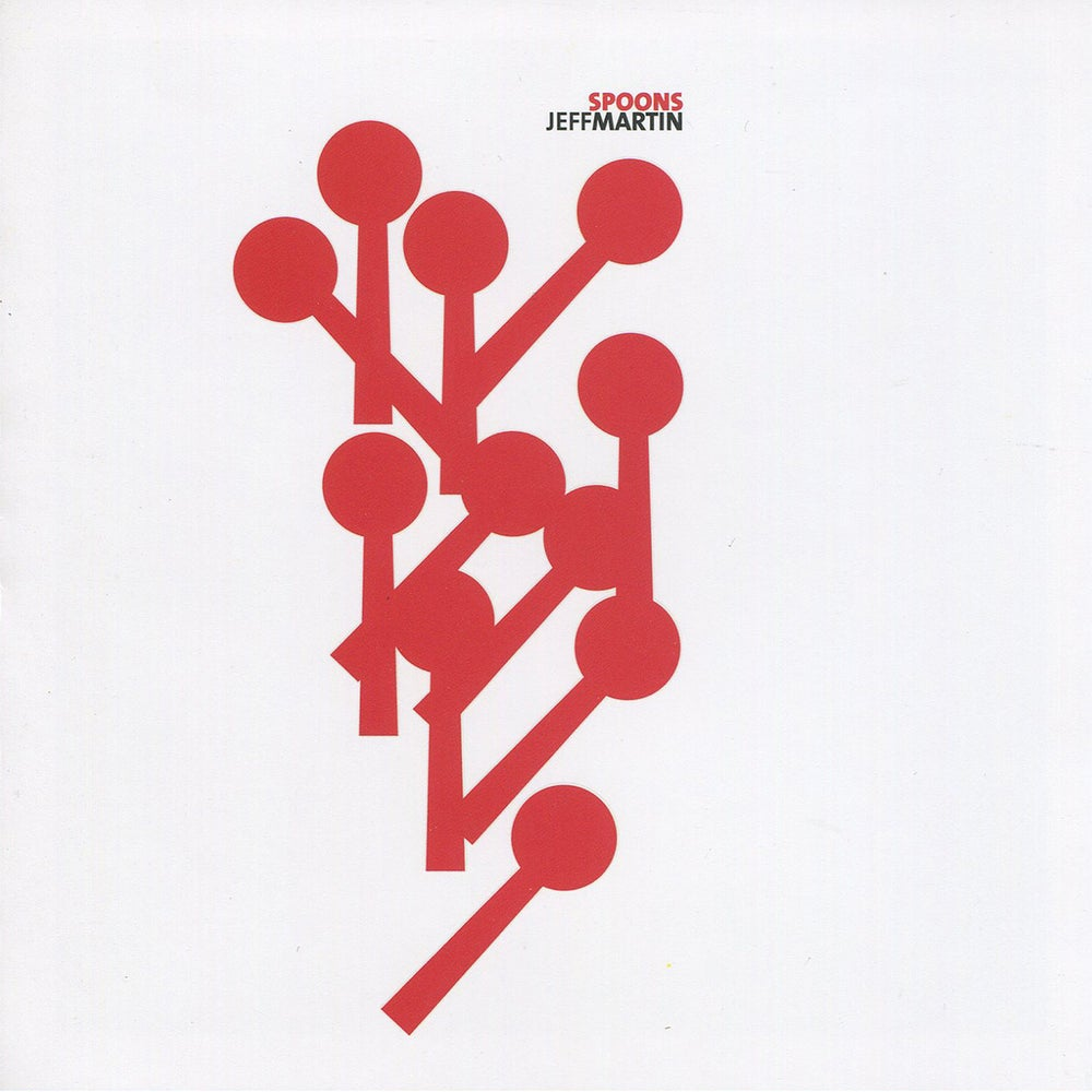 Image of Jeff Martin - Spoons (CD)