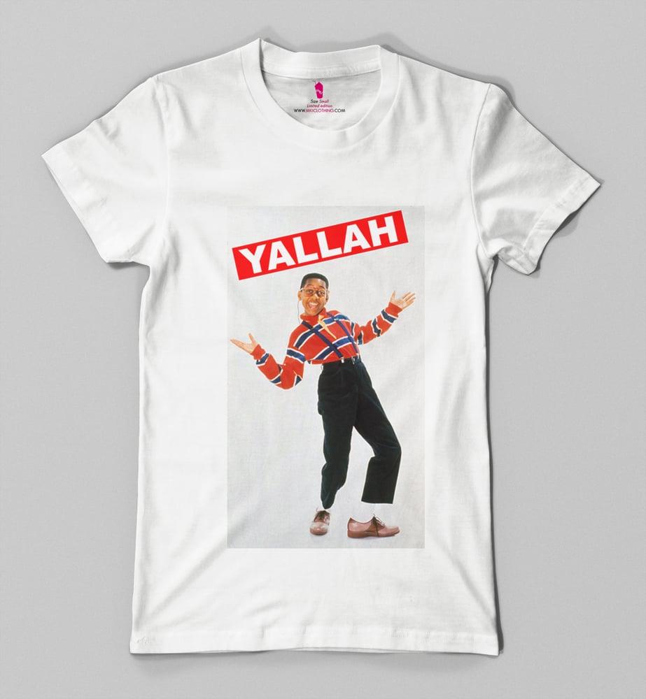 "Image of YALLAH "" Steve Urkel """