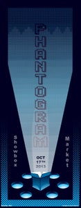 Image of Phantogram Seattle Poster 2013