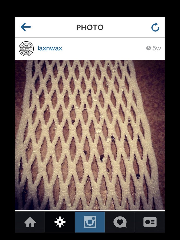 Image of White 15mm Laxnwax mesh