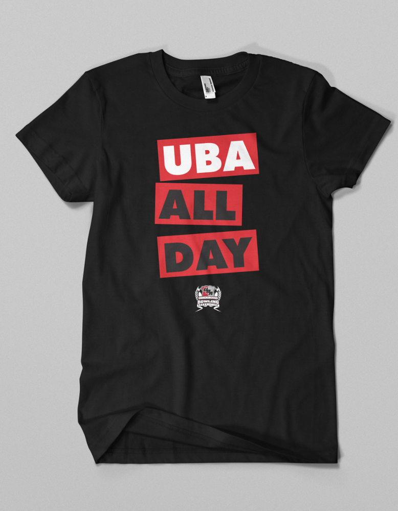 Image of UBA ALL DAY // Black & Red