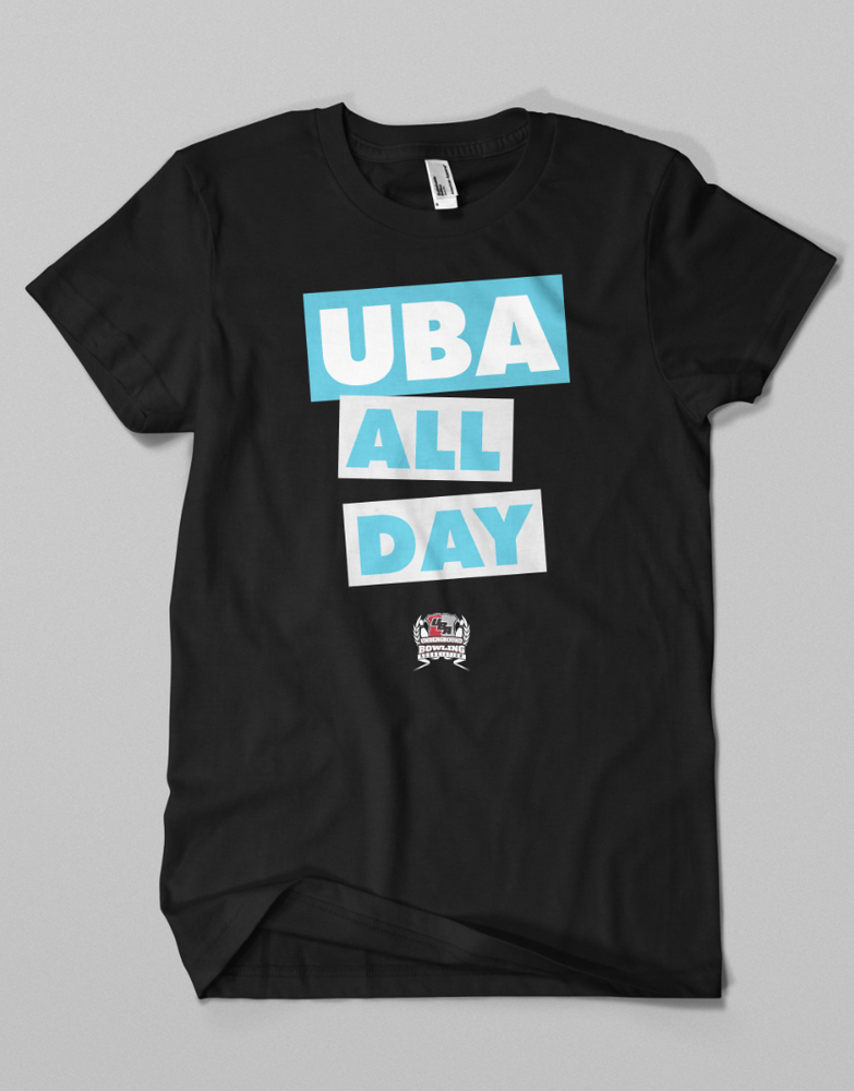 Image of UBA ALL DAY // Black - White - Blue