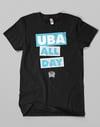 UBA ALL DAY // Black - White - Blue