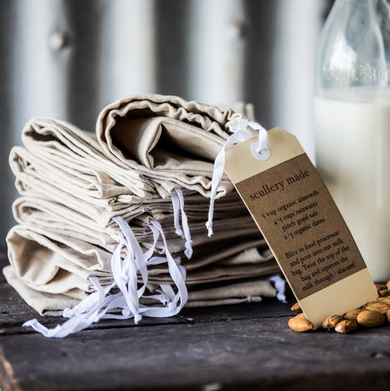 Image of Scullery Made Organic Hemp Nut Milk Bag