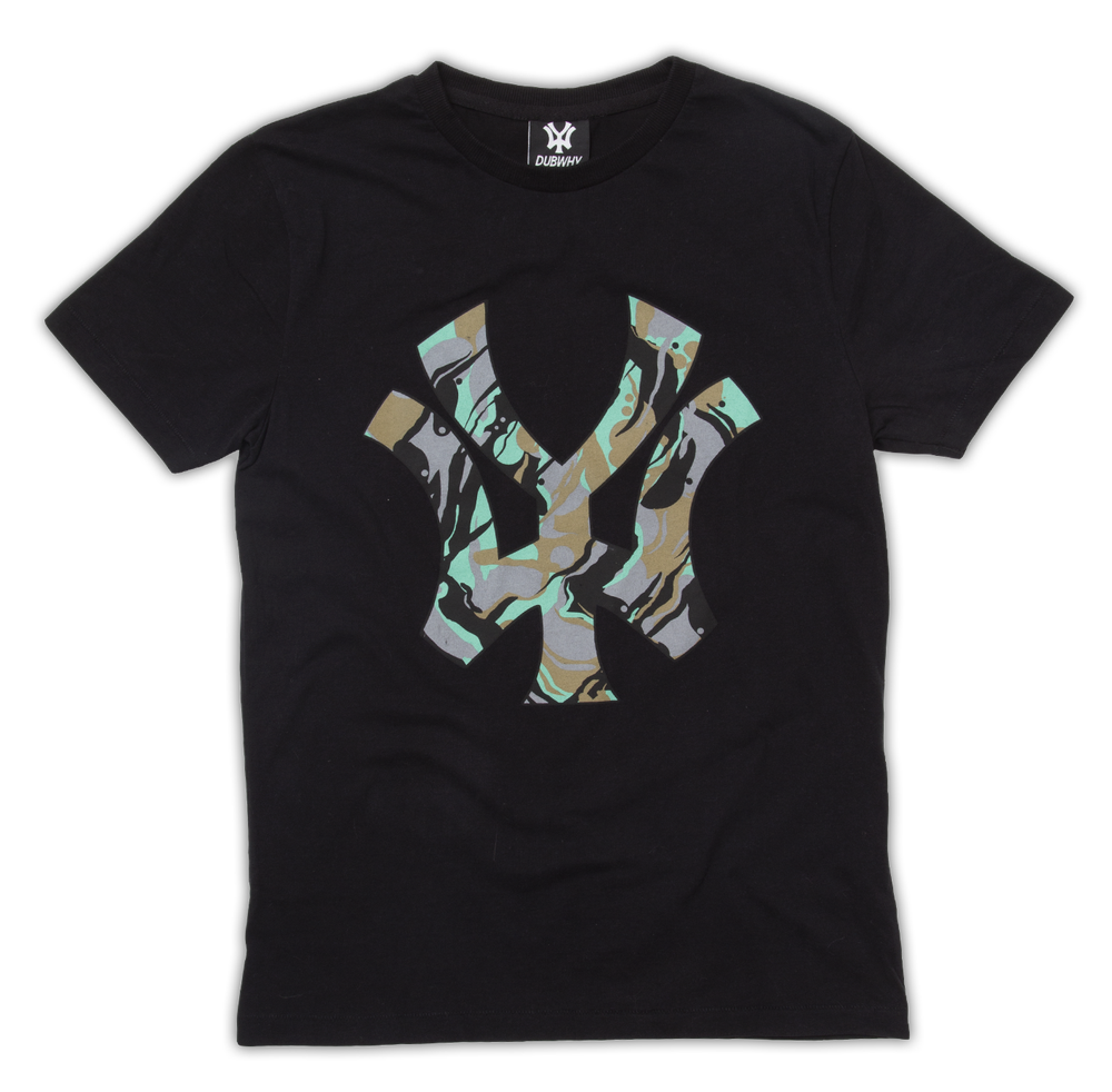 Image of 'WY' CAMO T-Shirt - Black