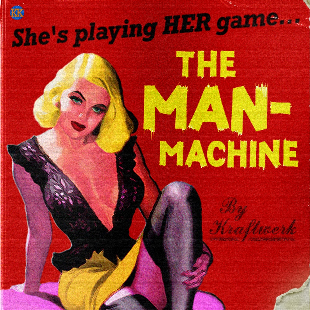 Image of The Man-Machine Art Print