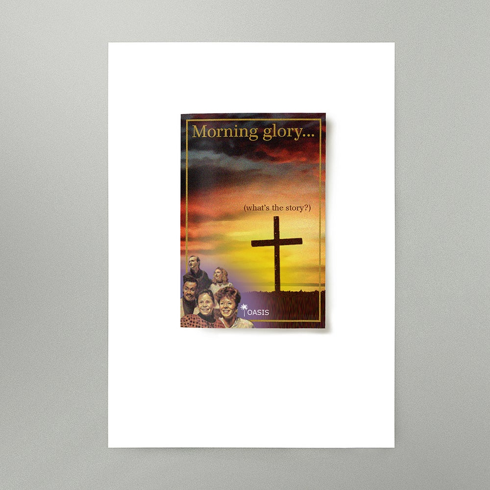 Image of (What's The Story) Morning Glory Art Print