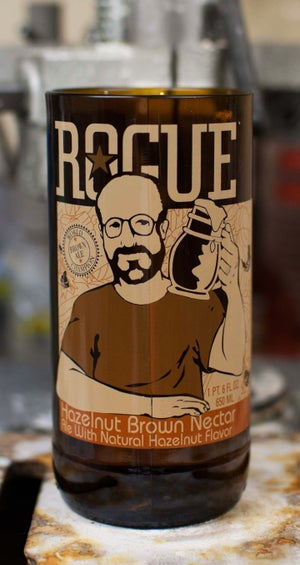 Image of Rogue Hazelnut Brown Nectar Ale Tumbler