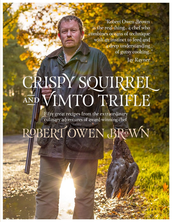 Image of Crispy Squirrel and Vimto Trifle