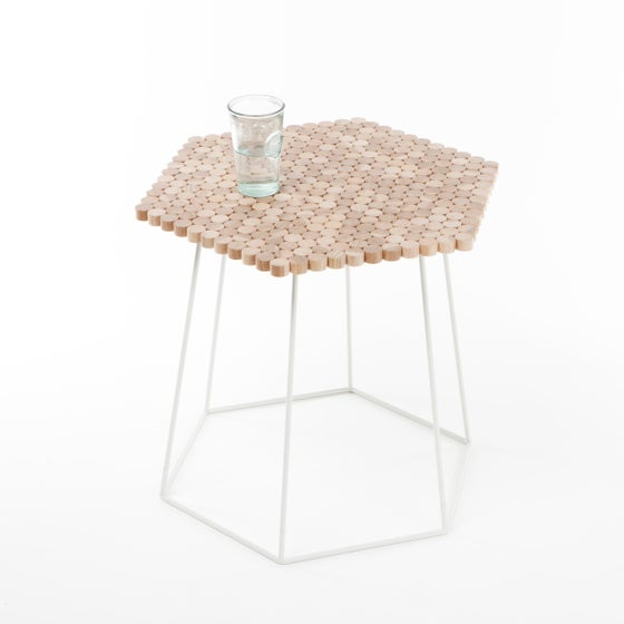 Image of Hexaform Side Table