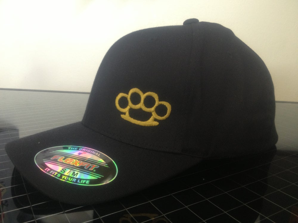 Image of FLEX FIT BRASS KNUCLE HAT