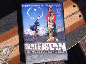 Image of SKATEISTAN Four Wheels and a Board in Kabul: