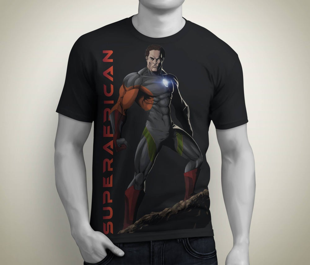 Image of Limited Edition Super African T-Shirt (Men)