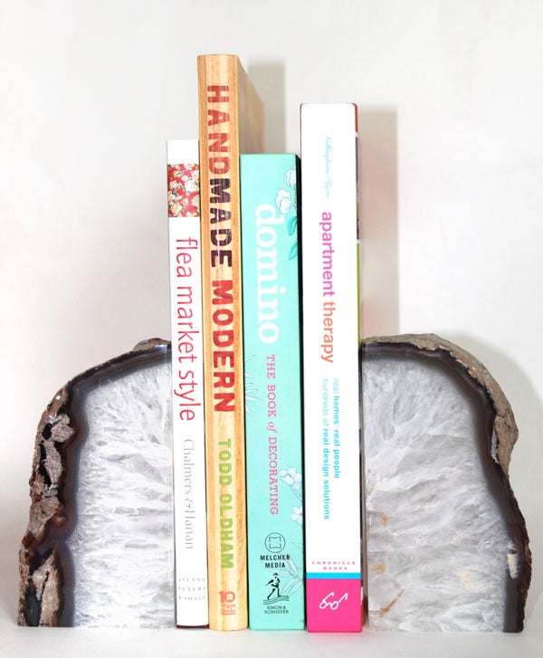Image of Agate Bookends