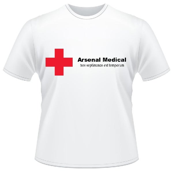 Image of Arsenal Medical Dept (white)