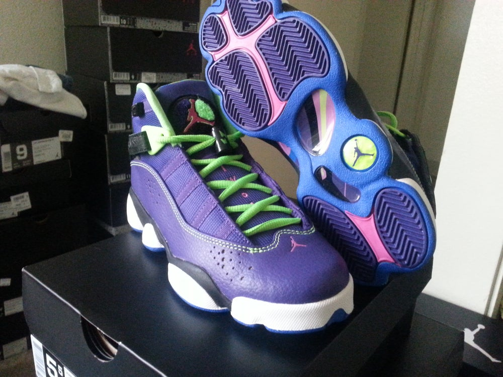 best service 17957 6cd39 Jordan bel air 6 rings LAST SIZE SALE