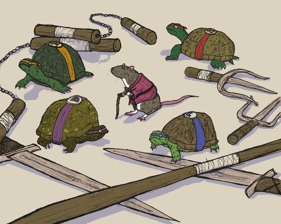 "Image of ""Teeny Turtles"""