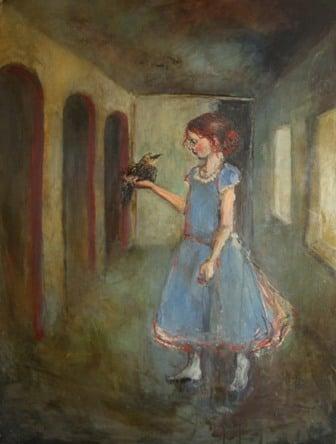 Image of Seeking Truth Behind those Bright Seeing Eyes - Giclee Print