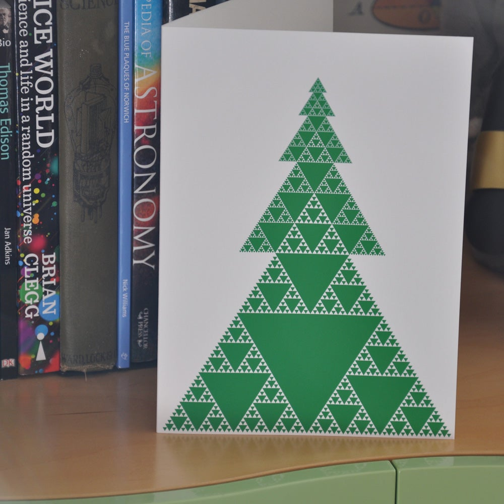 Image of Geometric Christmas Cards