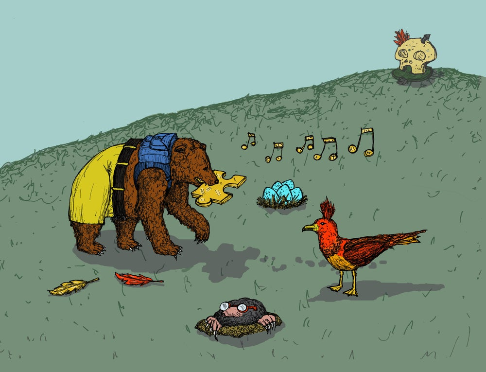 """Image of """"The Bear and the Bird"""""""