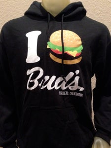 Image of Bud's Burgers x ANMLY x Lemon Lime Kingdom 40th Year Anniversary Hooded Sweatshirt