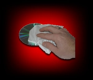 Image of Chamoisine en microfibres pour CD / DVD / BLU RAY