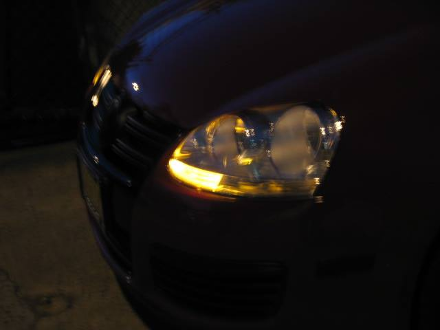 Image of Amber Front Turn Signal - Bright CREE Plasma fits: MK5 Jetta