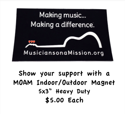 Image of Musicians on a Mission Magnet