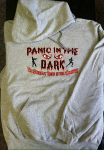 Image of Pull-Over Sweatshirt - Panic in the Dark