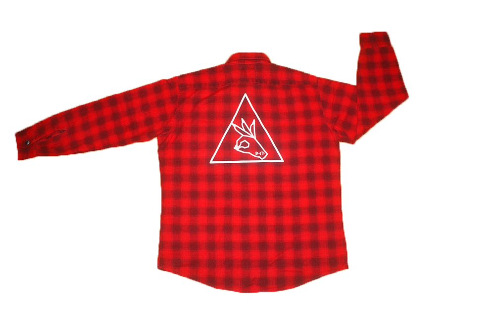 Image of Tite Top | NAILMOJI A-OK Flannel