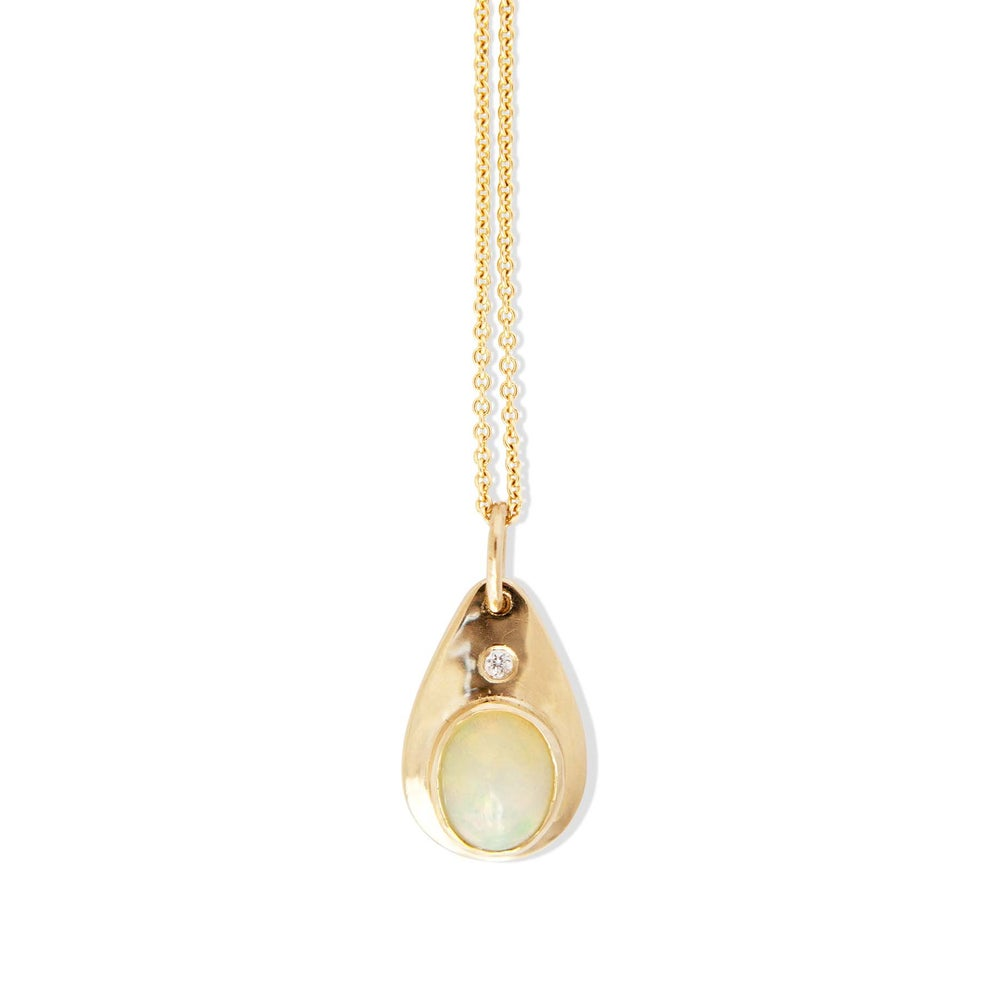 Image of Opal Teardrop Pendant