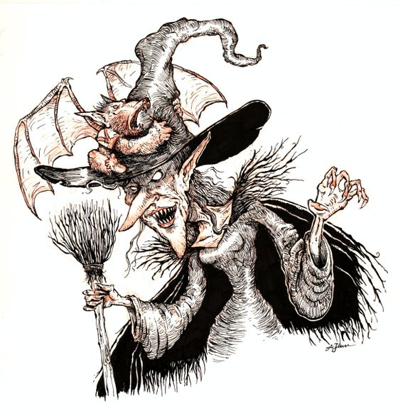 Image of The Wicked Witch & Winged Monkey