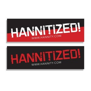 "Image of ""Hannitized!"" Bumper Sticker Set (HSTKR-SET)"