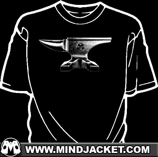 Image of Anvil shirt (The blacksmith/cartoon kind, not the brand)