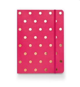 Image of Polka Dot Journal, Raspberry