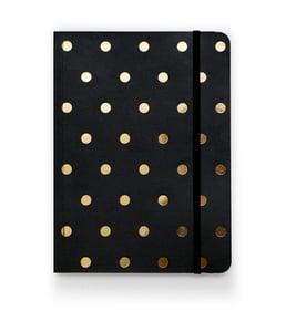 Image of Polka Dot Journal, Black