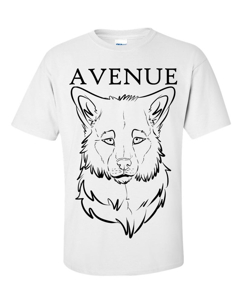Image of White Avenue Wolf Tee