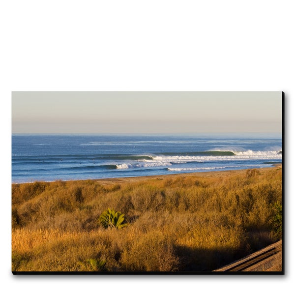 Image of TRACKS AT TRESTLES - (Metal or Canvas)