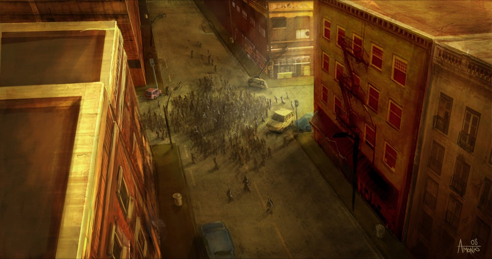 Image of The Dead City