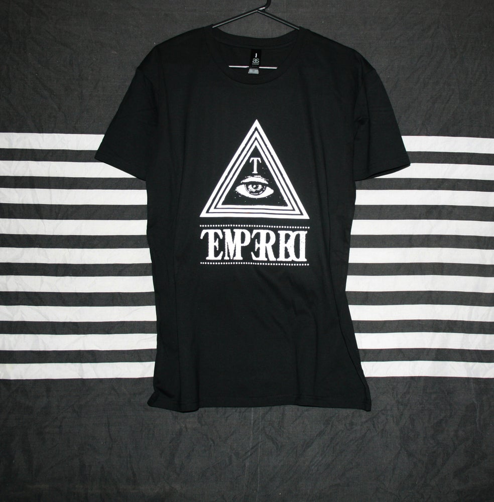 Image of TMPRD TRIANGLES / WHITE PRINT