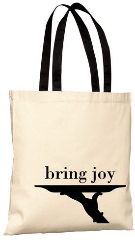 Image of bring joy tote