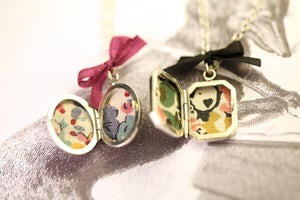 Image of little silver locket