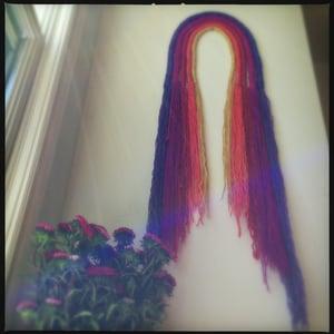 Image of Rainbow wall hanging
