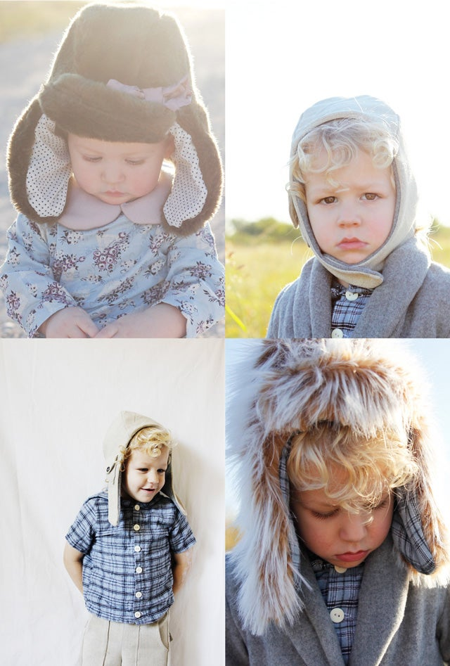 Image of ARCTIC/PILOT hat set - 2 hat bundle