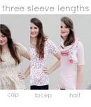 Image 4 of women's PENELOPE knit PEPLUM PDF +