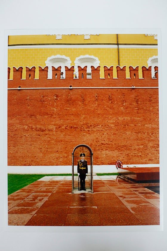 Image of Tomb of Unknown Soldier, Red Square, Moscow by Cedric Angeles